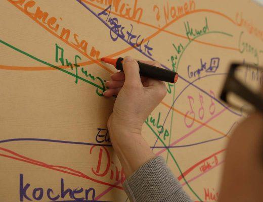 Sandra Dirks - Bild aus der Übung Menschen verbinden
