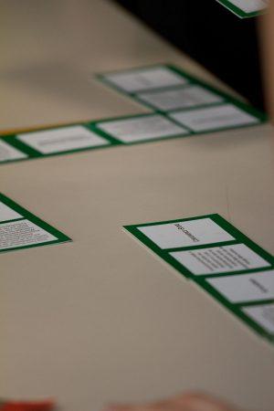 Sandra Dirks - Trainingsmaterial und MEthodenidee zur Wiederholung im Seminar: Domino