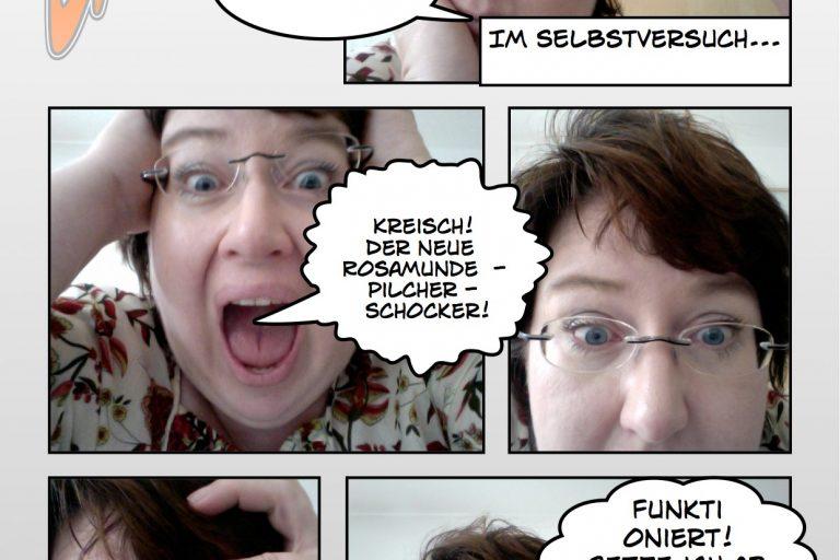 Sandra Dirks - Comic-Dokumentation mit der Comic-Software von Plasq