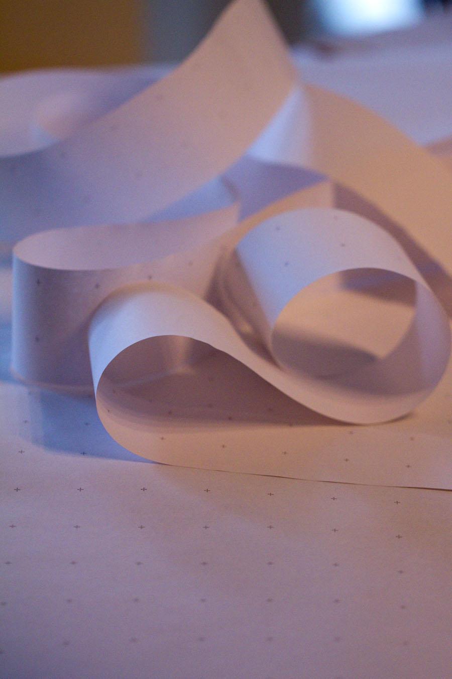 Sandra Dirks - Froebelsterne falten Fipchart in streifen