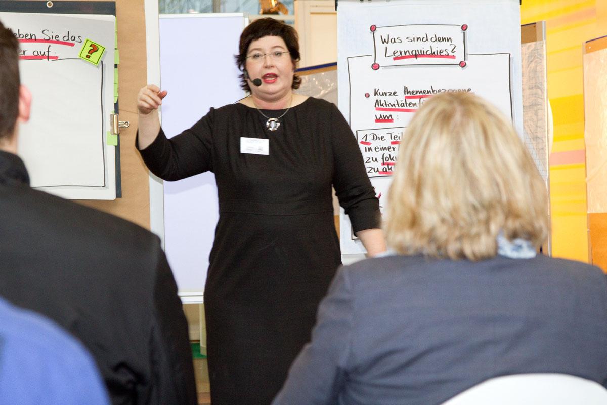 Sandra Dirks - Vorträge und Workshops auf der Didacta 2012
