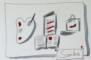 Sandra Dirks: Vorstellungsrunde auf Barcamps - Meine drei Tags