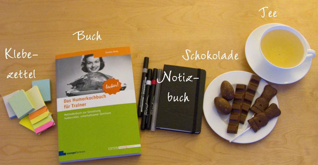Sandra Dirks - How to use the Humorkochbuch - Was tun mit dem Humorkochbuch?
