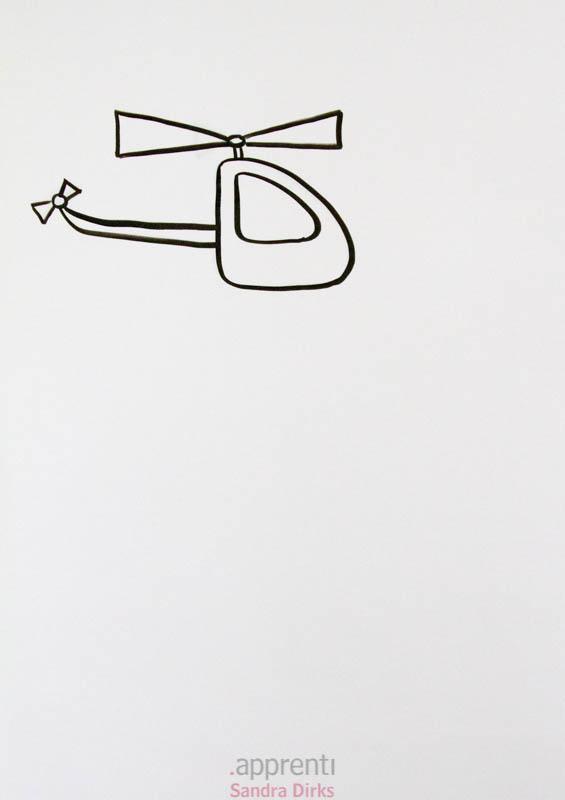 Sandra Dirks - Hubschrauber Helikopter - Flipcharts zeichnen mit Sandra Dirks