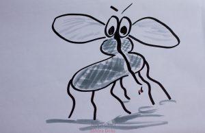 Sandra Dirks - Flipchart Maurice Moustique die Mücke