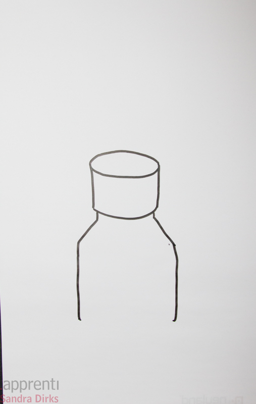 Sandra Dirks - Pillen auf ein Flipchart zeichnen