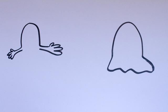 Sandra Dirks - Gespenst auf dem Flipchart - Gruselige Themen visualisieren