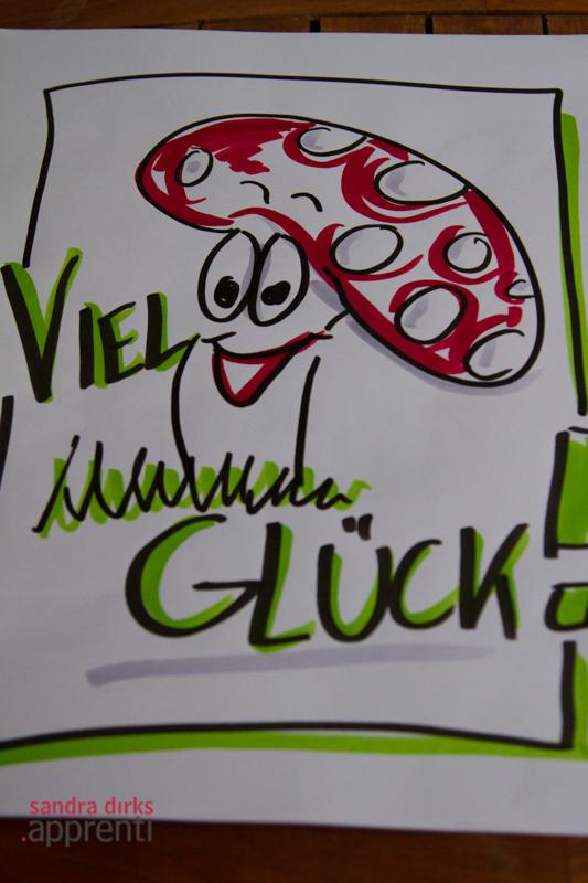 Sandra Dirks - Flipchart Glueckspilz