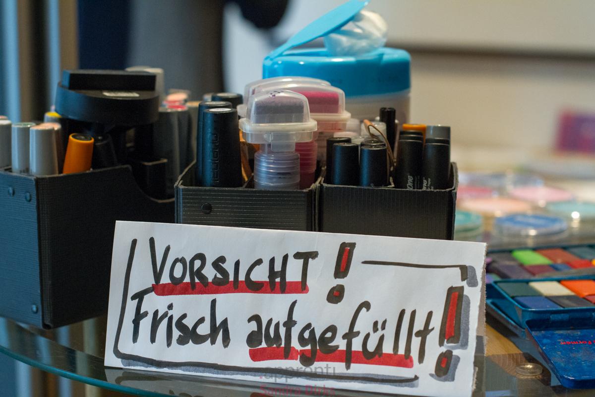 Sandra Dirks - Grundaussstattung Flipchart und Marker