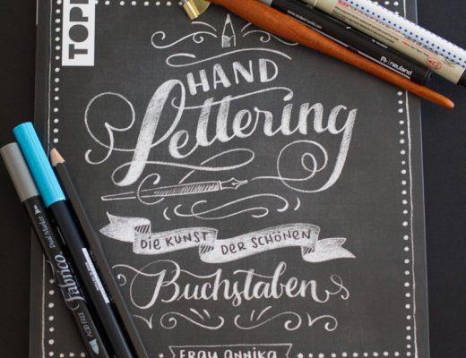 Sandra Dirks - Rezension: HANDLETTERING - die Kunst der schönen Buchstaben von Frau Annika