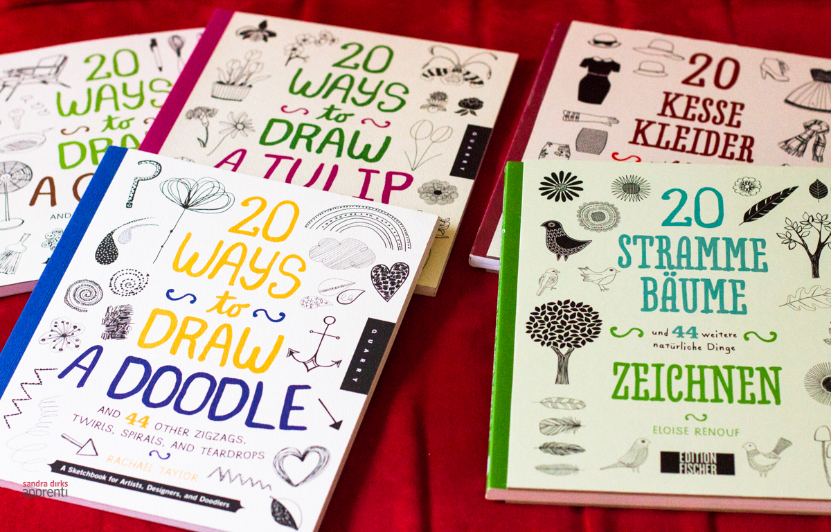 Sandra Dirks - Rezension Doodle-Bücher