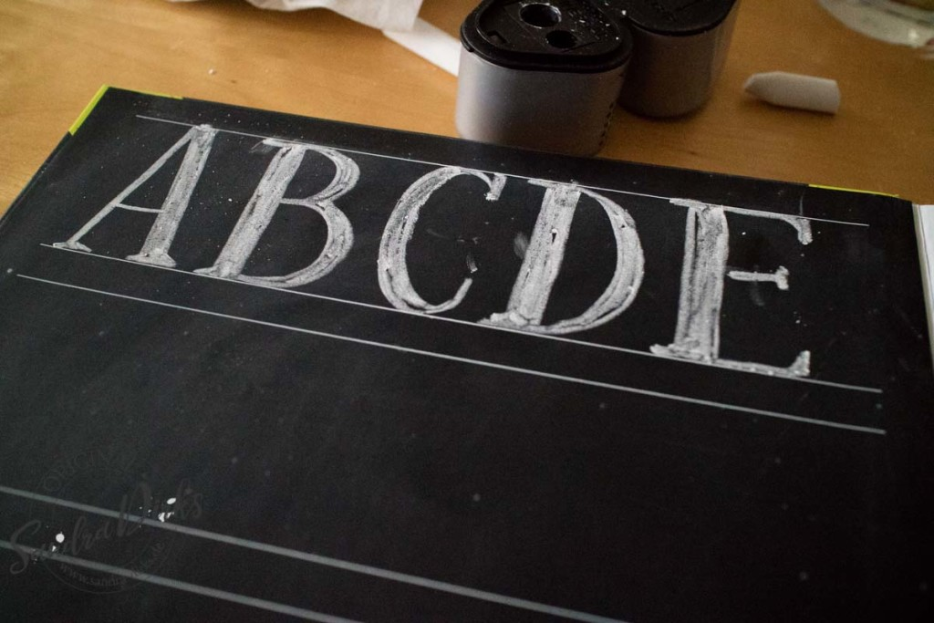 Rezension - The complete Book of Chalk Lettering