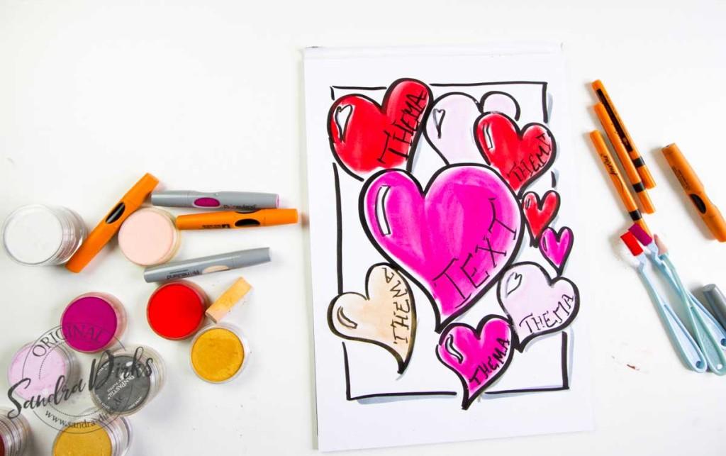 Mini - Flipchartkurs: Herzensthemen