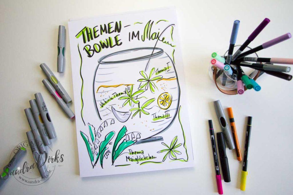 Mini - Flipchartkurs Maibowle 2
