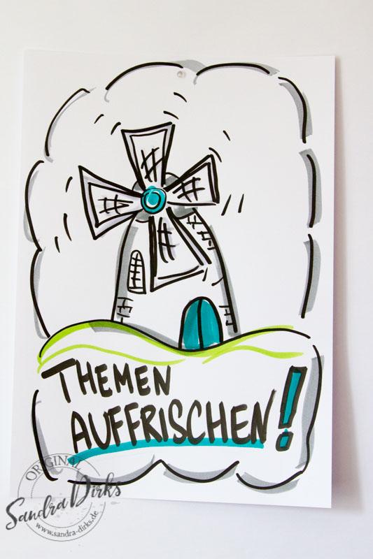 FlipchartFriday - Die Windmühle von Sandra Dirks