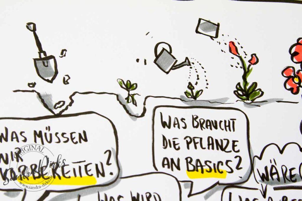 FlipchartFriday Fehler im Blumenbeet - Sandra Dirks