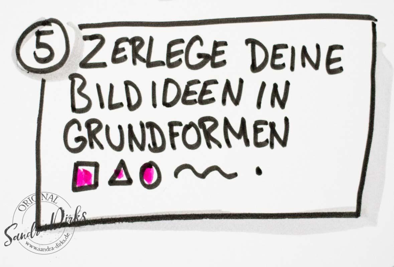 Sandra Dirks - Zerlege Bildideen in Grundformen