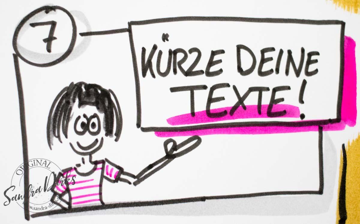 Sandra Dirks - Kürze deine Texte auf dem Flipchart