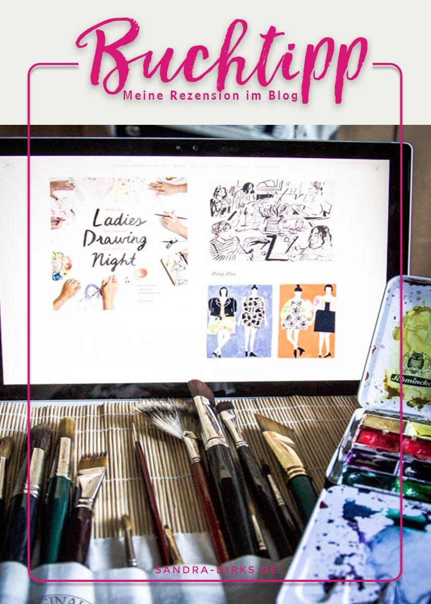 Sandra Dirks - Rezension Ladies Drawing Night