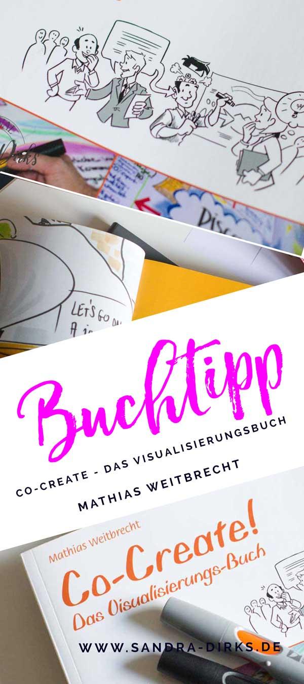 Sandra Dirks - Rezension - Co-Create, das Visualisierungsbuch https://sandra-dirks.de/buchtipp-mathias-weitbrecht-co-create-das-visualisierungsbuch/