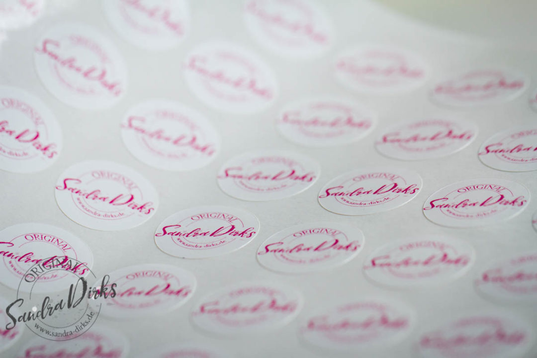 Sandra Dirks - Logoaufkleber