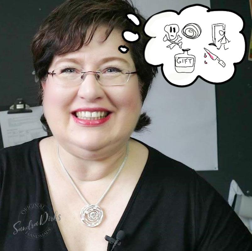 Sandra Dirks - ärgert sich über Teilnehmer, die zu spät kommen