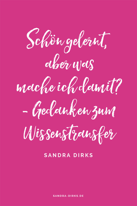 Sandra Dirks - Transfer Quote