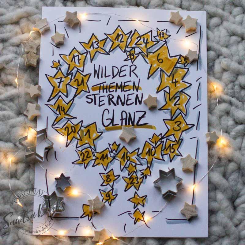 Sandra Dirks - FlipchartFriday Themen im Sternenglanz Instagram