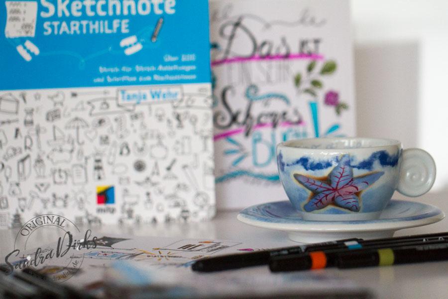 Sandra Dirks - Sketchnote und Kaffee