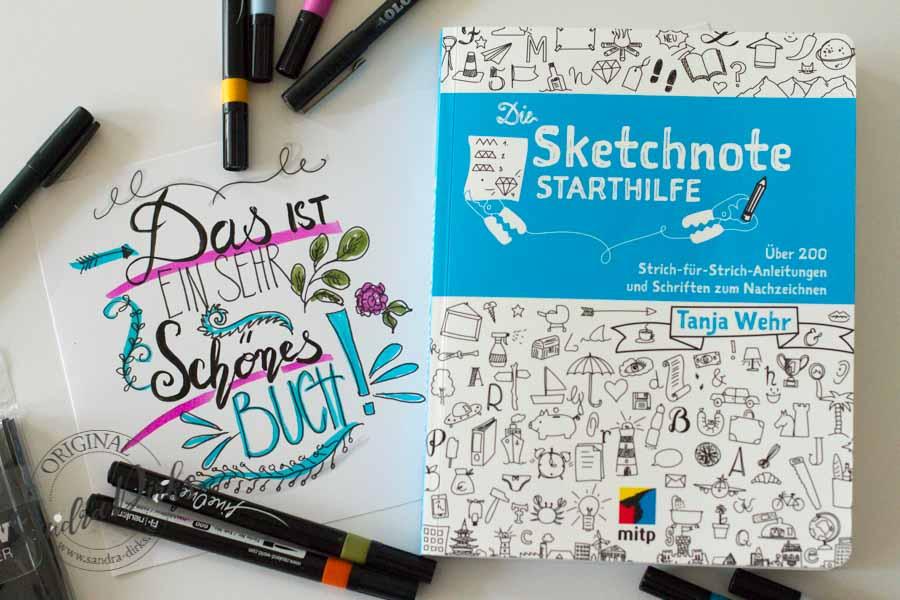 Sandra Dirks - Rezension Sketchnote-Starthilfe Titelbild
