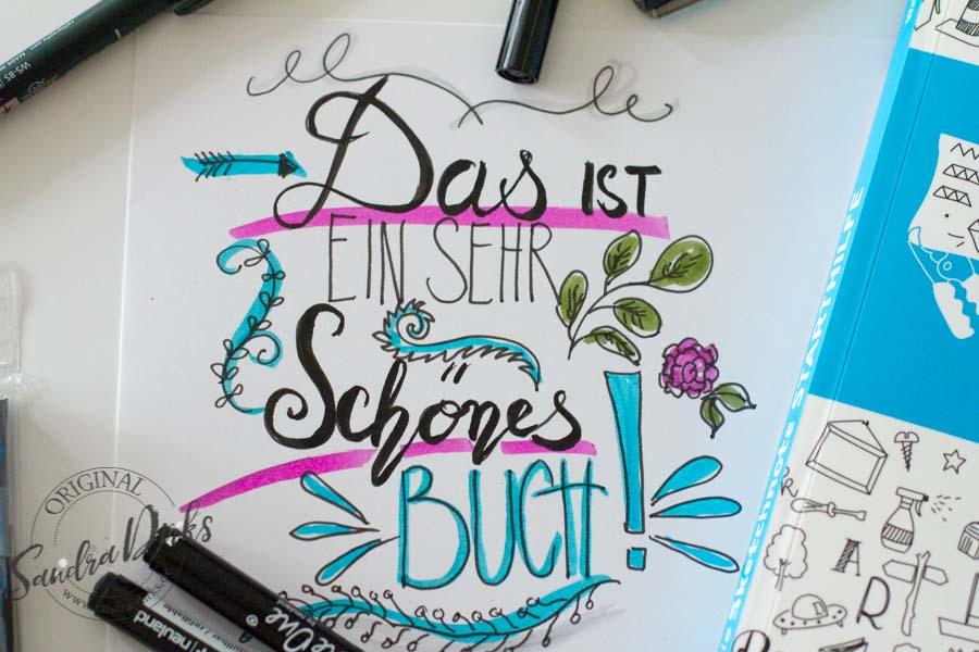 Sandra Dirks - Sketchnote-Starthilfe Handlettering