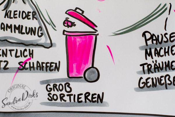 Sandra Dirks - Mini - Flipchartkurs Frühjahrsputz Details 6