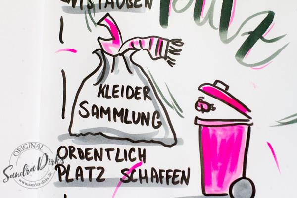 Sandra Dirks - Mini - Flipchartkurs Frühjahrsputz Details 7