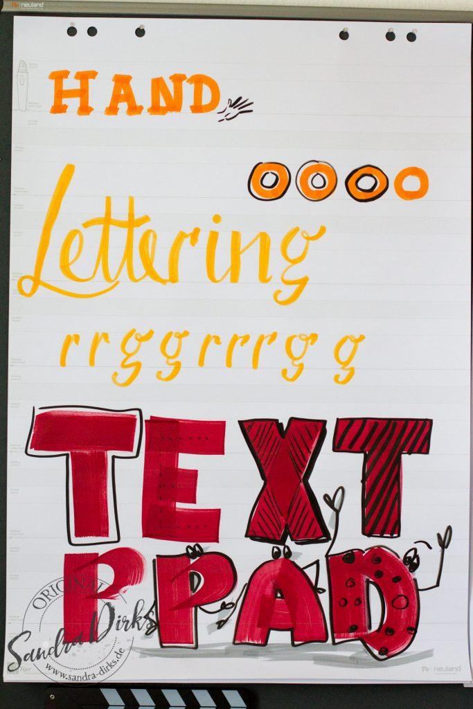 Sandra Dirks - Übungsplakat Lettering 3