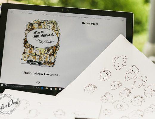 Sandra Dirks - How to draw Comics Titelbild