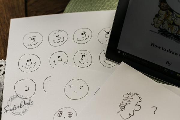 Sandra Dirks - How to draw Comics erste Versuche