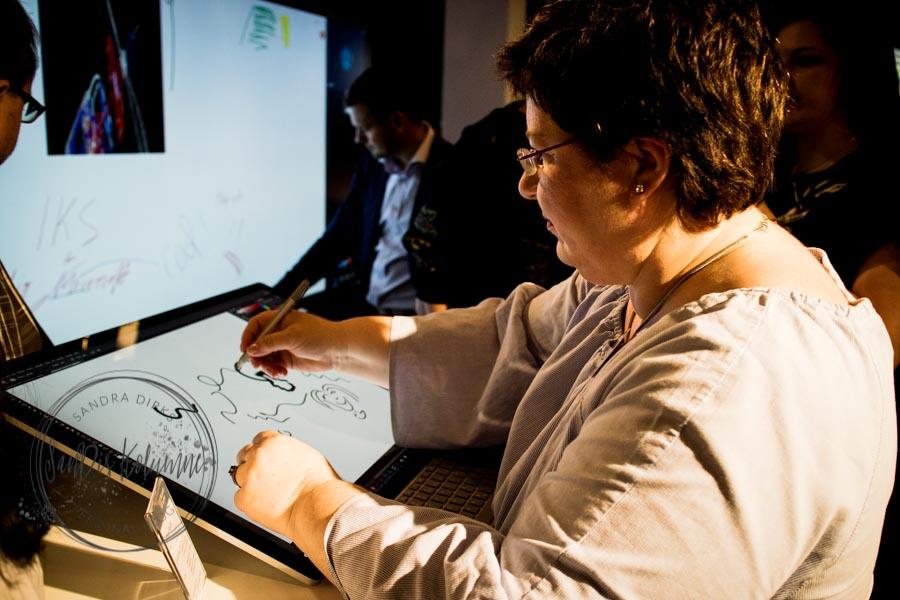 Sandra Dirks - Microsoft Surface Event in Berlin 13. Juni 2017 das Studio und ich
