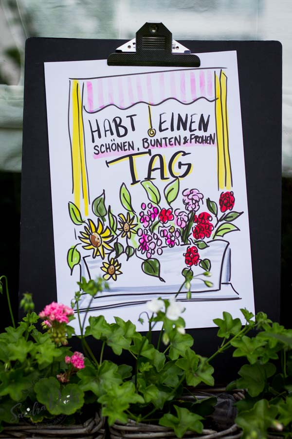 Sandra Dirks - Mini - Flipchartkurs Blumenfenster Pinterest