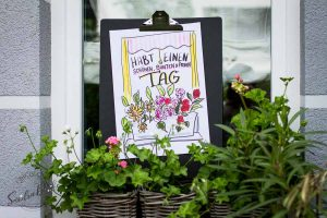 Sandra Dirks - Mini - Flipchartkurs Blumenfenster Titelbild
