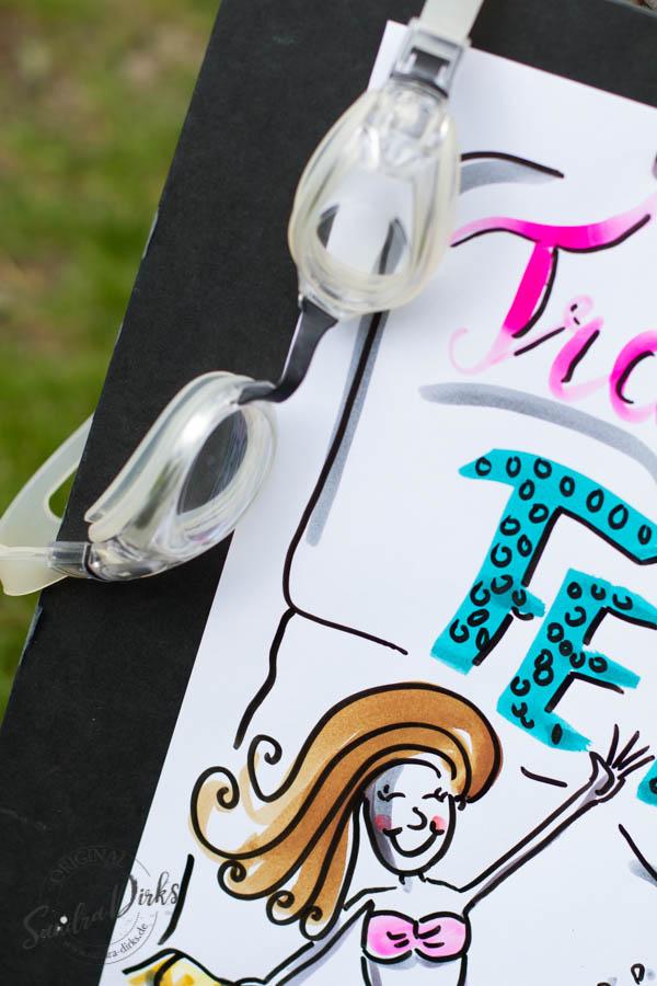 Mini - Flipchartkurs mit Sandra Dirks - Thema: Die Meerjungfrau Detail 2