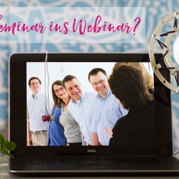 Sandra Dirks - Online-Tagesworkshop Seminarmethoden im Webinar nutzen