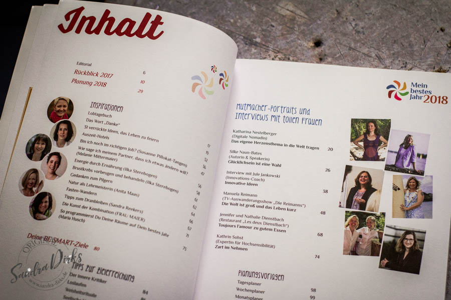 Sandra Dirks, Rezension: Buch- und Onlinekurs - Tipp: Mein bestes Jahr 2018 von Nicole Frenken & Susanne Pillokat-Tangen