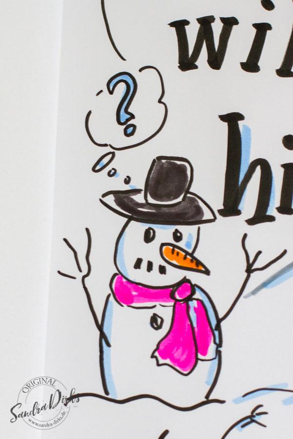 mini flipchartkurs so zeichnest du spuren im schnee. Black Bedroom Furniture Sets. Home Design Ideas