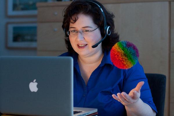 Sandra Dirks - Aktive Methoden für Webinartrainer