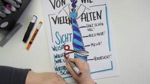 Sandra Dirks - Mini - Flipchartkurs So zeichnest du eine Krawatte