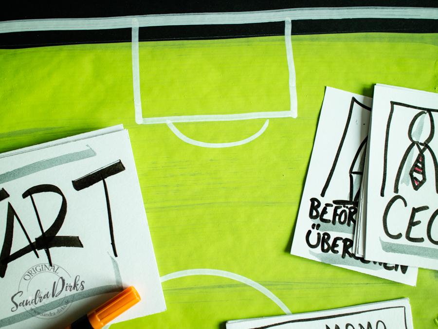 Sandra Dirks - So zeichnest du ein Flipchart für deine nächstes (Fußball)Aufstellung