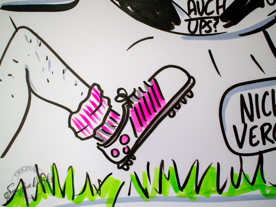 Sandra Dirks - Mini - Flipchartkurs - So zeichnest du ein Flipchart für dein nächstes Kick Off