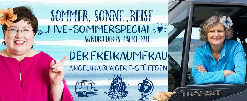 Sandra Dirks - Sommer-Special Live Sessions auf Facebook