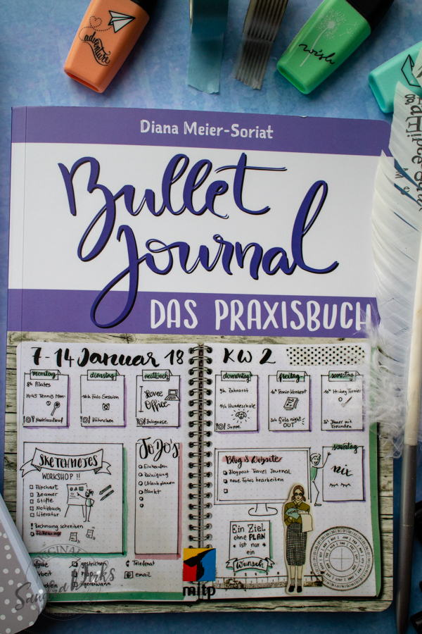 Sandra Dirks - Rezension Bullet Journal Praxisbuch