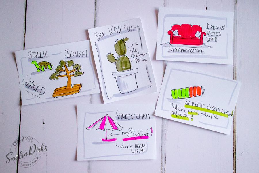 Sandra Dirks - Rezension Sketchnote Starthilfe Bilderwelten